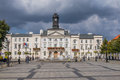 The city hall in Plock, Poland Stock Photos