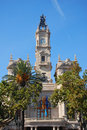 City Hall, Valencia Royalty Free Stock Photo
