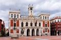 City hall of valladolid castilla y leon spain Royalty Free Stock Image