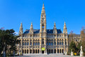 City Hall of Vienna (Rathaus) Royalty Free Stock Photography
