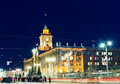 City Hall in Yekaterinburg Royalty Free Stock Photo