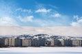Mesto v krutej zimnej klíme