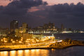 The City Of Havana Illuminated...