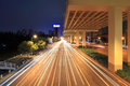 City highway at night Royalty Free Stock Photo