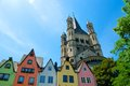 City of koln the germany Royalty Free Stock Images