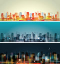 City landscape Royalty Free Stock Images