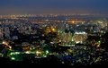 City of lights mumbai mulund photographed form a high altitude point during night the which never sleeps can be seen spread Royalty Free Stock Image