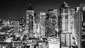 City lights at night Royalty Free Stock Photo