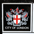 City Of London Emblem Stock Photography