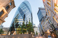 City of London. Modern and old architecture Royalty Free Stock Photo