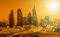 City of London one of the leading centres of global finance. Royalty Free Stock Photo