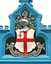 City of London Shield Royalty Free Stock Photo