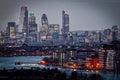 City of London Royalty Free Stock Photo