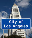 City of Los Angeles Royalty Free Stock Images