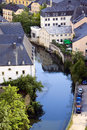 City Luxembourg Stock Images
