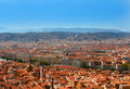City of Nice, France. Summer classic view. Royalty Free Stock Photo
