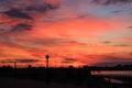 City over sunset Στοκ φωτογραφία με δικαίωμα ελεύθερης χρήσης