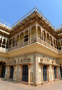 City Palace, Jaipur Royalty Free Stock Photos