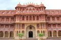 City Palace in Jaipur. Royalty Free Stock Photo