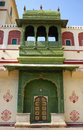 City Palace in Jaipur (India) Royalty Free Stock Photography