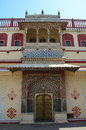 City palace jaipur india which includes the chandra mahal and mubarak mahal palaces and other buildings is a complex in Royalty Free Stock Photos