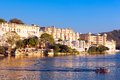 City Palace in Udaipur Royalty Free Stock Photo