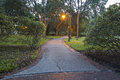 City Park Pathway Royalty Free Stock Photo