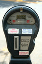 City parking meter Royalty Free Stock Photo