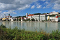 City passau bavaria Stock Photography