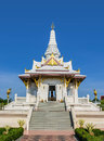 The city pillar shrine in thailand Royalty Free Stock Images