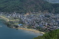The city pokhara in nepal Royalty Free Stock Photos