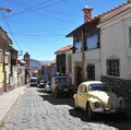 The city potosi bolivia september is one of highest cities in world history is closely connected with Royalty Free Stock Photos