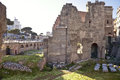 City Rome. Roman Forum Royalty Free Stock Photography