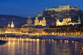 City Salzburg in austria Royalty Free Stock Photo