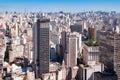 City of Sao Paulo Royalty Free Stock Photography