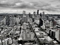 City of Seattle Royalty Free Stock Photo