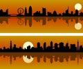 City Skyline at Dawn