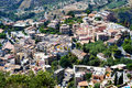 City of Taormina, Sicily Stock Photos