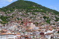 Aerial view of taxco guerrero, mexico III Royalty Free Stock Photo