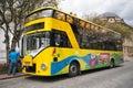 City tour bus in Cuenca