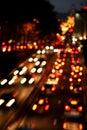 City traffic Royalty Free Stock Photo