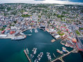 City Tromso, Norway Royalty Free Stock Photo