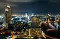 City view at Bangkok Stock Images