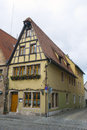 City view of Rothenburg ob der Tauber Royalty Free Stock Photo