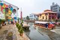 City views of Malacca, Malaysia.