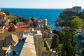 City wall of dubrovnik Royalty Free Stock Photo