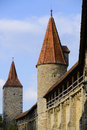City wall of rothenburg ob der tauber medieval old town in germany Stock Photography