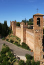 City Walls, Gradara Royalty Free Stock Photography