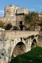 City Walls of Istanbul Stock Photo