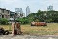 City Wasteland Royalty Free Stock Photo
